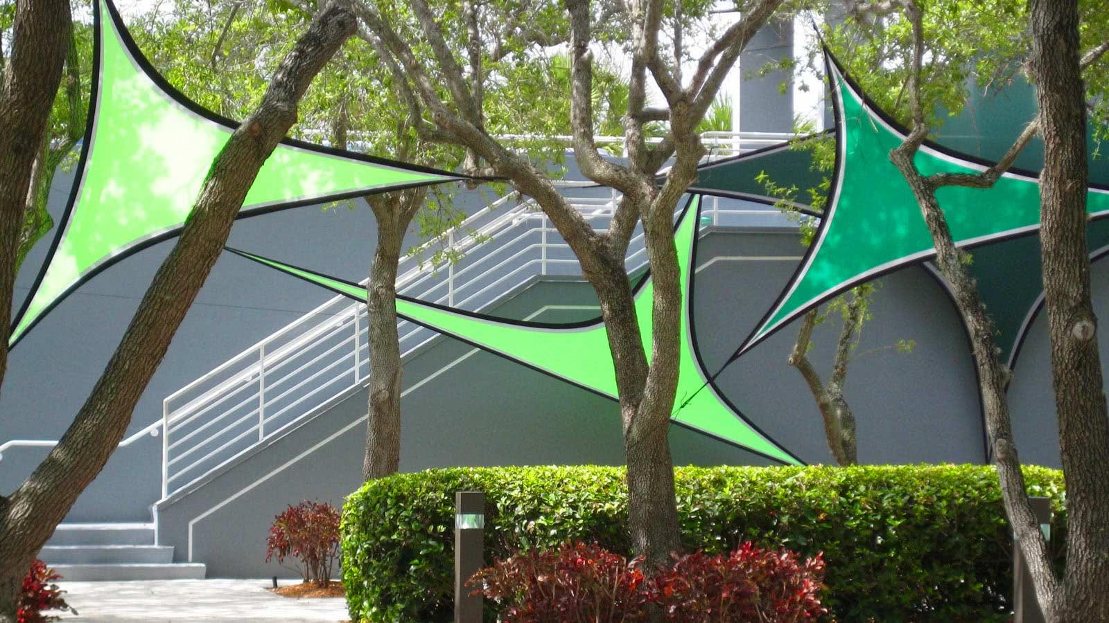 Spandex Triangles